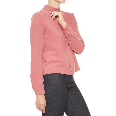Opus - Fumin modische Damen Bluse in Blossom Red/Aprikot, Stretch