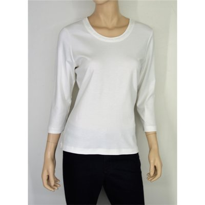 RABE modisches Basic Shirt in Creme mit 3/4 Arm