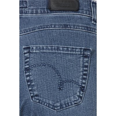Angels Dolly bequeme 5-Pocket  Damen Jeans in Stone Blue, Stretch