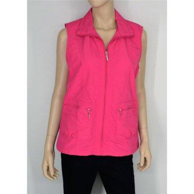 timeless design b02a3 a460a HS Navigazione sportliche Damen-Weste in Pink mit Stehkragen Taschen