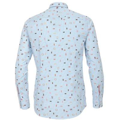 b99b272c440709 ... Venti modisches Herren-Hemd mit coolem Retro-Druck Slim Fit ...