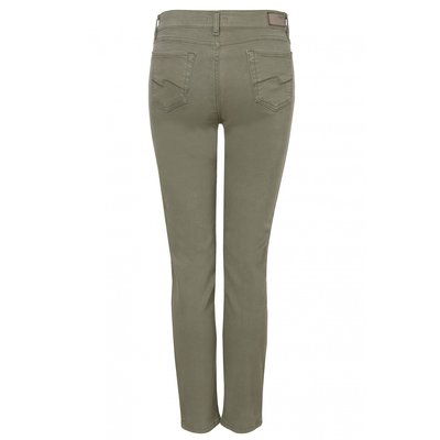 Angels Dolly modische Damen Jeans in Khaki Comfort Fit Stretch