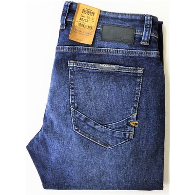 camel active Madison flexxxactive Herren Jeans in Stone Washed Used Blau  Stretch ... 086d1b99a4