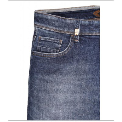 camel active Madison flexxxactive Herren Jeans in Stone Washed Used Blau Stretch