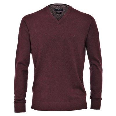 Casa Moda modischer Herren Pullover in Bordeaux V-Ausschnitt, 38,99 2c0cb9d150