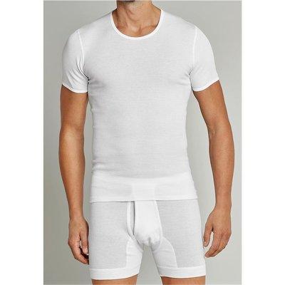 das billigste Sonderrabatt Großhandelsverkauf SCHIESSER Doppelripp Herren Unterhemd, ORIGINAL CLASSICS, Weiß