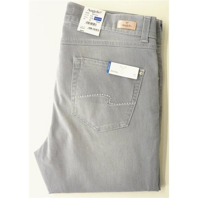 Angels Skinny Slim Fit Damen Jeans/Denim in Light Grey, 5-Pocket, Stretch