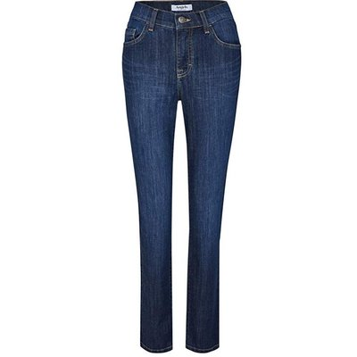 Angels Dolly Damen Comfortable Fit Jeans in Stone Used