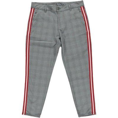 53979bd3284885 Geisha Fashion modische Damen Hose/Pants mit Glencheck Muster und rotem  Streifen ...