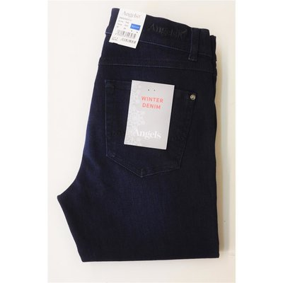 Angels modische Cici Dark Blue used Winter Denim