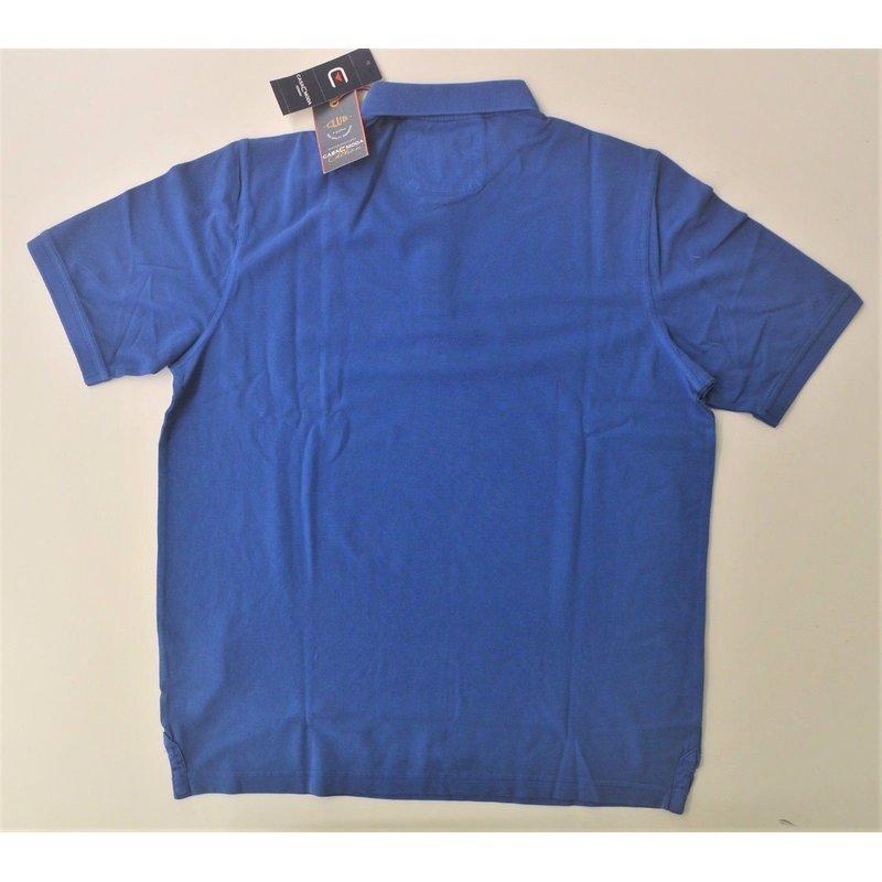 casa moda modisches polo shirt piqu in royalblau vintage. Black Bedroom Furniture Sets. Home Design Ideas