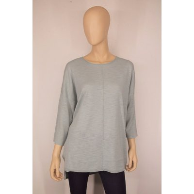 VIA APPIA DUE modischer, leichter Damen Pullover in frischem Mint, 3/4 Arm