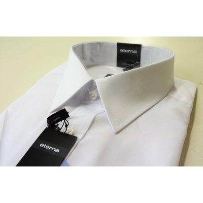 uk availability 32ea6 e2cf2 eterna, 1/2 Arm Hemd in Weiß, Comfort Fit, Kentkragen, Größe wählbar