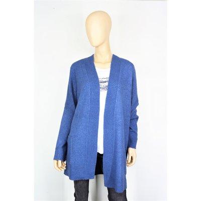buy popular c880a fc312 VIA APPIA DUE modische Damen Strickjacke in tollem Blau