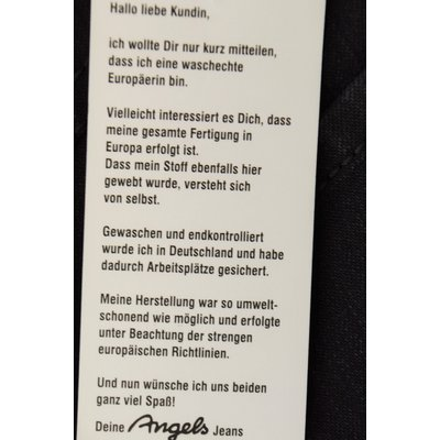 Angels Dolly, modische 5-Pocket Jeans dauerhaft Tiefschwarz Power Stretch